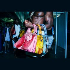 @Regrann from @dayoawe -  When Bae hold dem bags  Bts at African Fashion week London Photo: Dayo awe Model: Emeka  Bags: Sherene Melinda @afwlandafwn #london#londonmodel#londonmodels#fashion#editorial#magazine#colours#beauty#makeup#beach#colours #bag #yellow #pink #men #muscle #hot #sexy #black #nigeriafashion #nigeria#hottest100#hotchocolate #Regrann