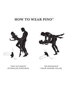 How to wear the Pino Vibrating Couples Ring--->  #LoversLane #SexTips #AdultToys #AdultSexToys #Vibrators #LELO #SexToys