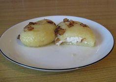 Kluski śląskie z białym serem