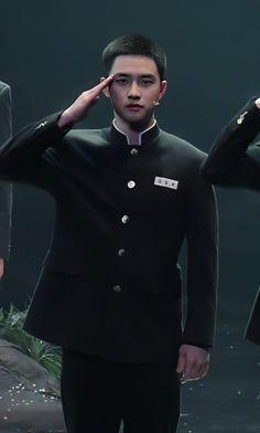 Chansoo, Exo Korean, Exo Do, Do Kyung Soo, Kpop Exo, Military Service, Kyungsoo, Asian Boys, My Man