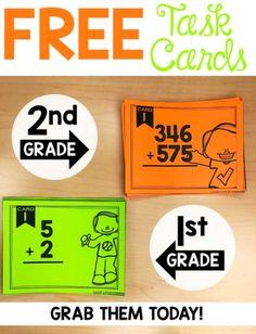 math task card