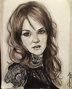 Danielle Panabaker Caitlin Snow - Killer Frost Flash Artwork, drawing, fanart, comics DC comics