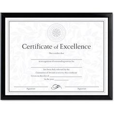 dax value u channel document frame wcertificates 8 12 x 11 black - Diploma Frames Walmart