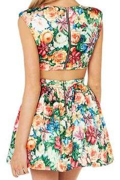 vestidos casuales floreados - Buscar con Google