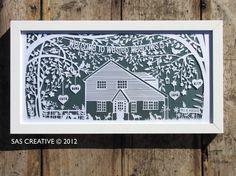 Family Tree Papercut, by Samantha Sherring