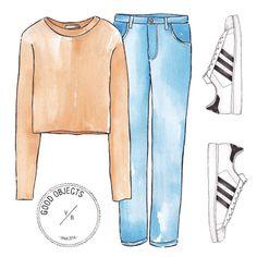 Good objects - Working uniform #goodobjects #illustration