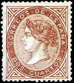 REINADO DE ISABEL II - AÑO 1867. Isabel II.