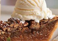 Sweet Potato Pecan Pie - this looks yummy, combines sweet potato pie on the bottom and pecan pie on the top, literally you make the filling for both pies and combine them!