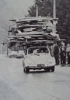 VW Bug Surf Racks