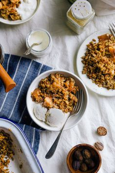 WEEKEND CHILLS + TAHINI APPLE CRUMBLE - Wholehearted Eats