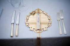 Laser cut mirrored side plates become beautiful features