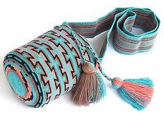 Аутентичные MOCHILA WAYUU/малого размера/лучшего качества/ручной работы крест тела сумка