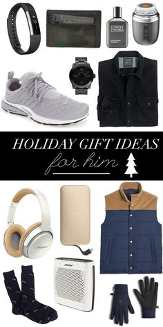 Holiday Gifts Ideas For Him | Christmas Gifts For Guys | What To Buy Your Guy For Christmas