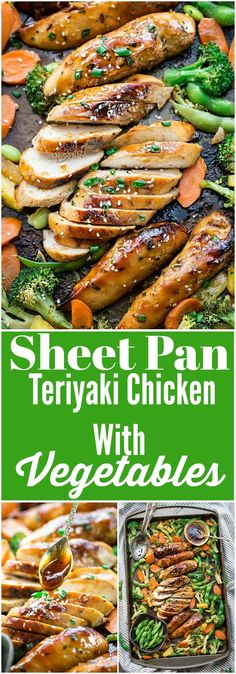 - Healthy And Delicious Recipes:These one sheet pan suppers are perfect for family-style meals and for gathering your family at the dining table smelling their flavor. # Healthy Recipes for one Sheet Pan Meals - Delicious And Healthy Recipes Healthy Family Meals, Easy Healthy Dinners, Healthy Dinner Recipes, Cooking Recipes, Healthy Suppers, Healthy Chicken Meals, Healthy Dinner For One, One Pan Dinner Recipes, Easy Meals For One