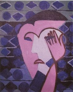 Can You Guide Me Online? - http://fitnessandhealthpros.com/yoga/can-you-guide-me-online/ by Nina       Sad Female Head by Ernst Ludwig Kirchner    One of the most difficult things about writing about yoga for emotional wellbeing on this blog is that I sometimes receive desperate pleas for help in my email. Here's an example of one I received very recently:  Dear Nina,  Hello! Could ...