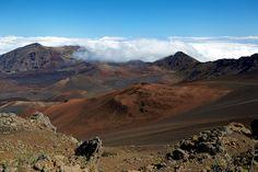 Haleakala National Park, Maui, Hawaii via Flickr.