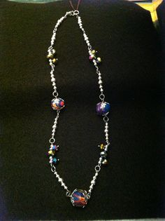 Dreams Whisper necklace. Bright and fun! SOLD