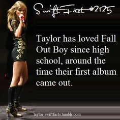 Haha I'll be honest, I didn't even know they had been around that long. I had never heard of them until they performed My Songs Know What You Did In The Dark with Taylor during the Victoria's Secret Fashion Show! Lol I adore that song though!
