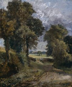 A Cornfield by John Constable, 1817