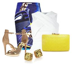 """""""Untitled #2547"""" by janicemckay ❤ liked on Polyvore featuring Mary Katrantzou, Kayu, Michael Kors and Kate Spade"""