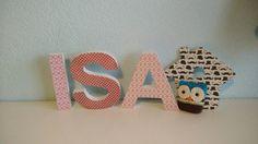 Hout en Letter HOUTEN LETTERS ISA verkrijgbaar op houtenletter.com