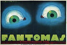Poster for Pál Fejos's Fantomas (1932)