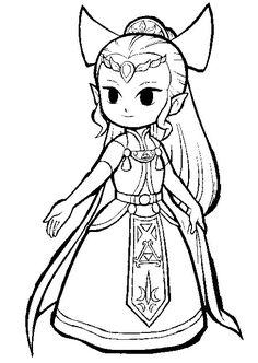 Zelda Coloring Pages Online Voteforverde 554141