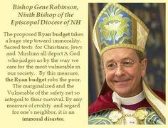 ~ Bishop Gene Robinson