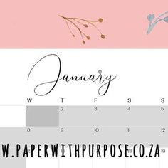 Lovely minamilist calendars for 2020, printed locally on 100% recycled paper! 💚 To be notified when pre-orders open, sign up on our website: www.paperwithpurpose.co.za  PAPER with PURPOSE (@paperwpurpose) • Instagram photos and videos