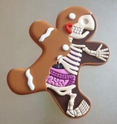 Gingerbread man by Jason Freeny