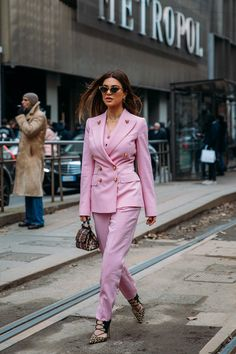 Negin Mirsalehi at Milan Fashion Week