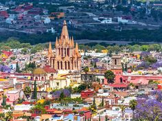 Many consider colonial-era San Miguel de Allende one of Mexico's prettiest cities, and it's no wonder. Here, you'll find leafy courtyards, narrow cobblestone streets, and a historic town center from which the Gothic Parroquia de San Miguel Arcángel's pink towers rise high above the main plaza, El Jardín. Located 165 miles northeast of Mexico City in the country's hilly central highlands, San Miguel has no international airport, but is worth the trek: In 2008 UNESCO recognized San Miguel de…