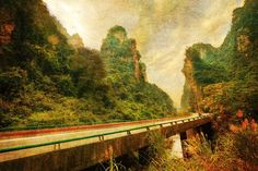 Driving through Remote China from #treyratcliff at www.StuckInCustom... - all images Creative Commons Noncommercial.