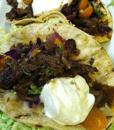 Buckhead's Steak Tacos - good fresh all natural bar food - great with a 3 buck beer