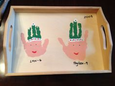 Dixie of all Trades: Children's Christmas Crafts as family gifts...over the years