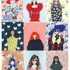 :: PRINTS FOR SALE :: all of my fashion illustrations are available as digital prints, on beautiful bamboo paper. DM or email me at whatktdoes@gmail.com for sizes and prices. These and more available . Discounts for multiples! ✨✨✨ #fashionillustrated #gucci #guccigram #erdem #christopherkane #rochas #rodarte #soniarykiel #vetements
