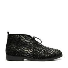 Invito - zwarte desert boots - €79,99