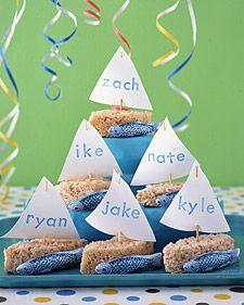 Boys birthday desserts?