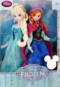 Froze Disney Dolls Anna and Elsa D23 Set