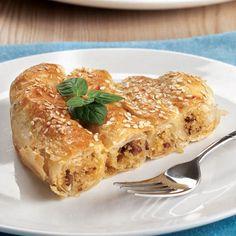 Bulgurlu Şirince Böreği    İzmir Yöresel Yemek