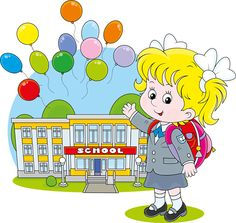 Cute school children vectors geaphics set 03 free