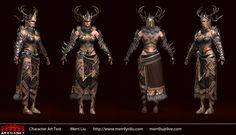 ArenaNet Character Art Test  Guild Wars 2 Female Norn