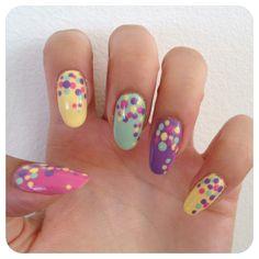 DIY: Adorable Polka Dot Nails
