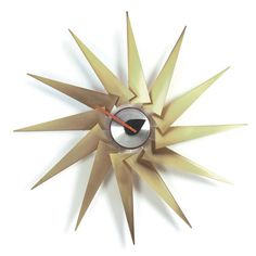 TURBINE CLOCK  $645 @ puremodern.com by George Nelson