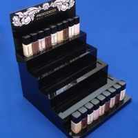 Clear Acrylic Cosmetic Display For Lipstick