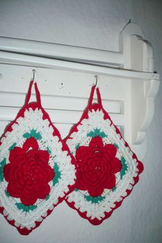 Crochet Potholder-My Mom did a lot of these pot holders-Marilyn (Busby) Horchem