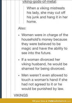 Viking women rights