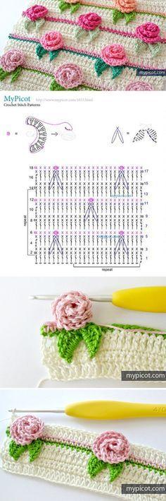 Flower stitch is one