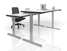 Snap Uprise Height Adjule Desking At Business Furniture Warehouse Nashville S Largest New And Used Office