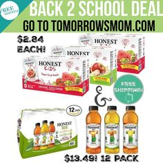 $2.84 (8pk) plus free shipping GO to link in my bio @tomorrowsmom find & click on this pic to get yours! . . No PRIME needed SEE details on post. . As always feel free DM me and 2 comment below . Visit My Blog: TomorrowsMom.com  Organic & Natural Deals Family Savings Deals  . TAG OR DM THIS DEAL 2 A FRIEND . . #frugal #savings #deals #cosmicmothers  #organic #fitmom #health101 #change #nongmo #organiclife #crunchymama #organicmom #gmofree #organiclifestyle #familysavings  #healthyhabits…